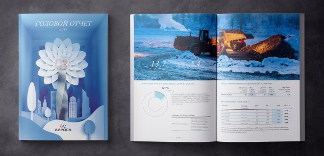 Annual report for ALROSA